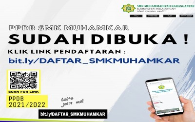 PPDB SMK Muhammadiyah Karanganyar 2021/2022